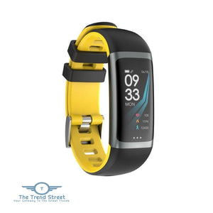 Smart Fitness Tracker Yellow fitness tracker
