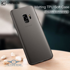 Soft TPU Phone Case for Samsung Galaxy S9 Phone Accessories