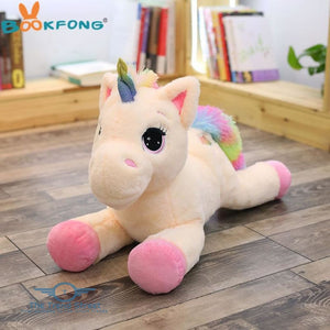 Unicorn Plush Toy 40cm / Pink-white / Buy 1 Get 50% OFF Plush Toy