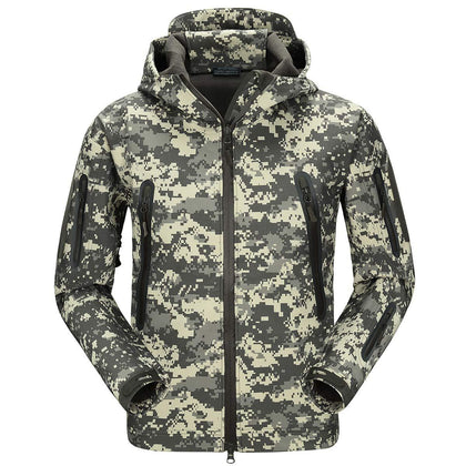 Mountainskin-fleece-hoodie-gray-black