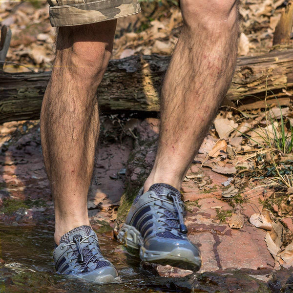 FREE SOLDIER Lightweight Tactical Shoes-Fording-a-Stream