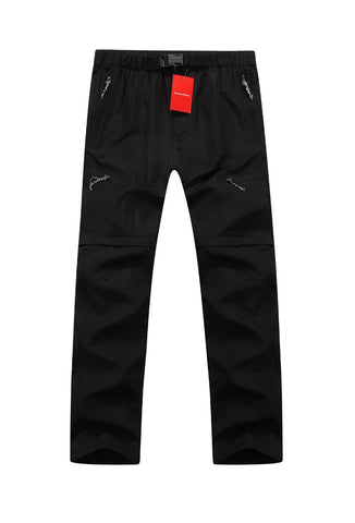 Mountainskin Convertible Pants Black
