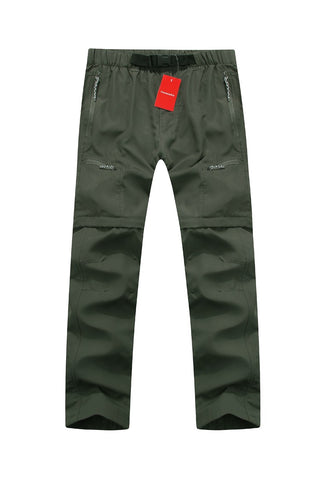 Mountainskin Convertible Pants Green