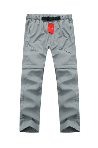 Mountainskin Convertible Pants Light Grey