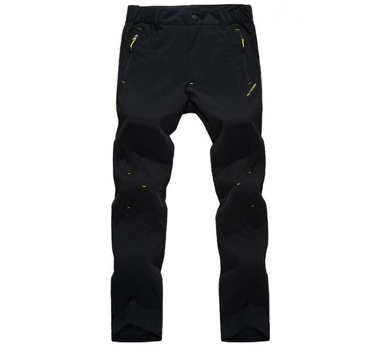 Mountainskin Summer Breathable Pants Black - Men's