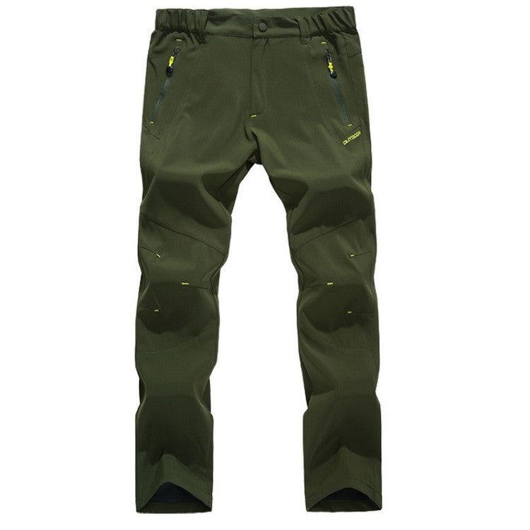 Mountainskin Summer Breathable Pants Army Green - Men's