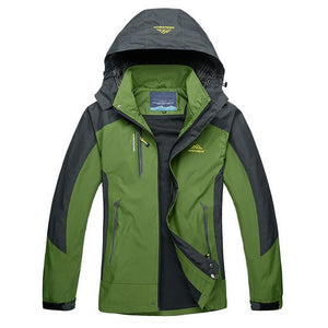 Mountainskin Lightweight Waterproof Jacket Army Green