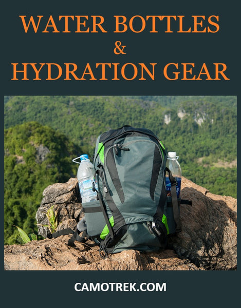 Water Bottles and Hydration Gear for Backpacking PIN