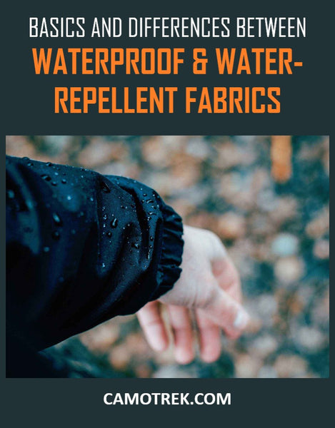 Basics and Differences between Waterproof and Water-Repellent Fabrics PIN