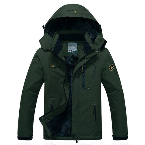 Dark-Green-Insulation-Jacket