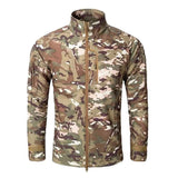 Alpha-1 Fleece Jacket Camo CP - Men's - Camotrek
