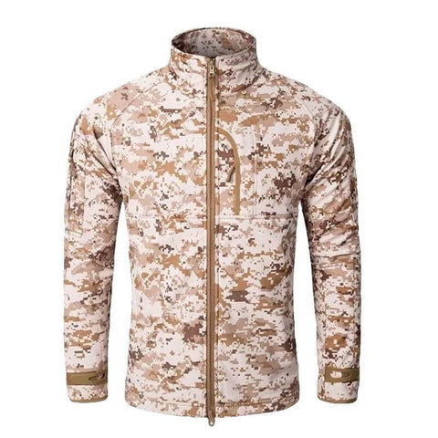Alpha-1 Fleece Jacket Camo Desert Digital - Men's - Camotrek