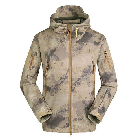 ESDY Tactical Jacket Camo A-TACS AU - Men's - Camotrek