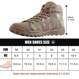 FREE SOLDIER Mid Outdoor Boots Camo - Men's - Camotrek
