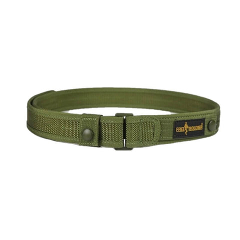 FREE SOLDIER 1.5 Inches Secret Service Belt 117cm - Camotrek
