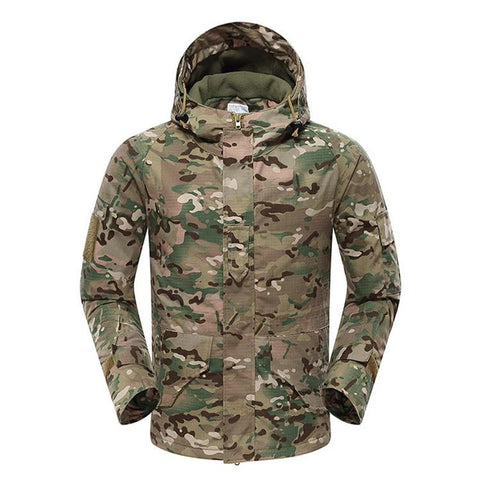 Mountainskin Tactical Insulated Jacket Camo CP - Men's - Camotrek