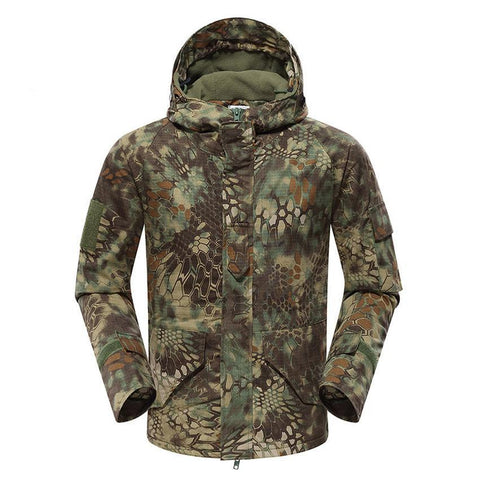 Mountainskin Tactical Insulated Jacket Camo Mandrake - Men's - Camotrek