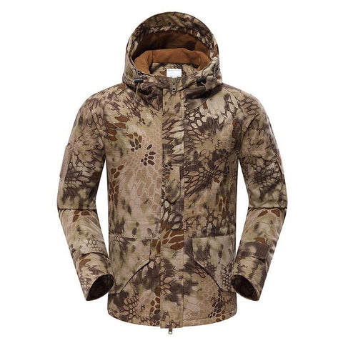 Mountainskin Tactical Insulated Jacket Camo Nomad - Men's - Camotrek