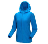 Mountainskin Zip Fleece Hoodie - Women's - Camotrek