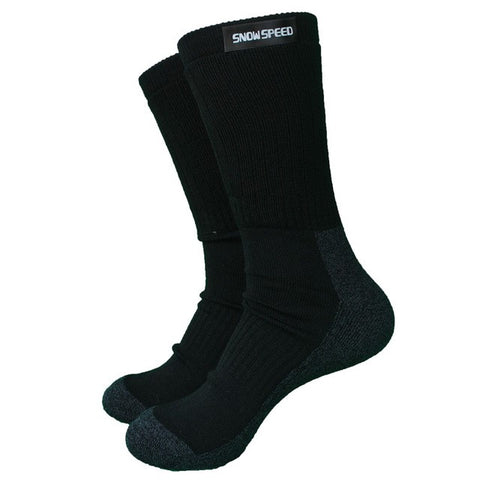 SNOW SPEED Merino Crew Sports Socks - Men's - Camotrek
