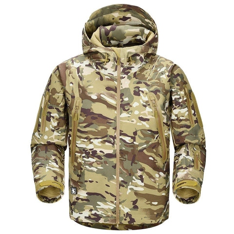 Shark Skin NG Softshell Jacket Camo CP - Men's