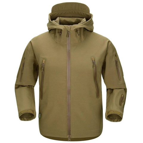 Shark Skin NG Softshell Jacket Wolf Brown - Men's - Camotrek