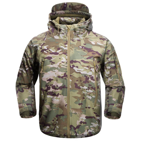 Shark Skin Softshell Jacket Camo - Men's - Camotrek