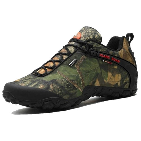 XIANG GUAN Lightweight Hiking Shoes Camo - Men's - Camotrek