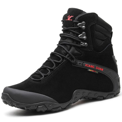 XIANG GUAN Outdoor High-Top Hiking Boots - Men's - Camotrek