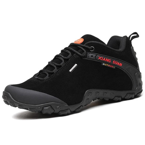 XIANG GUAN Outdoor Low-Top Hiking Shoes - Men's - Camotrek