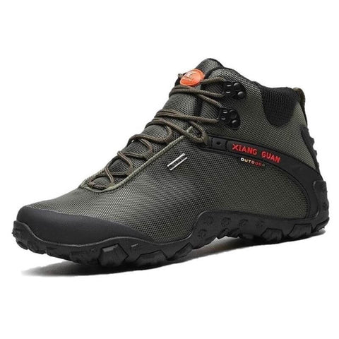 XIANG GUAN Mid Hiking Boots - Men's - Camotrek