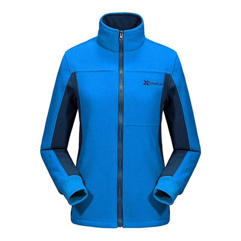 Mountainskin Zip Fleece Jacket - Women's - Camotrek