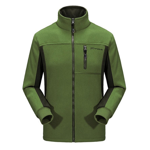 Mountainskin Zip Fleece Jacket - Men's - Camotrek