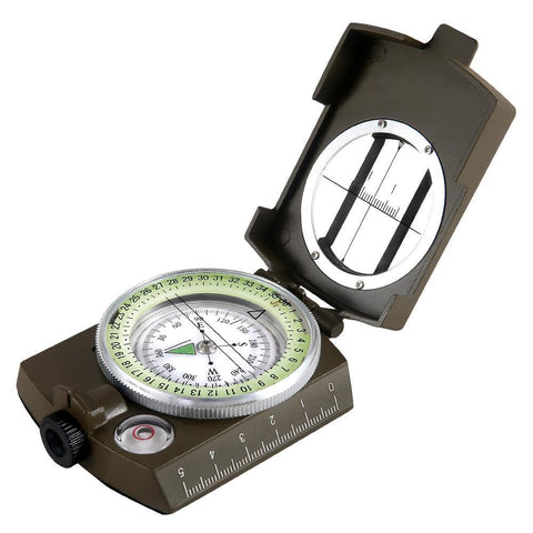 Eyeskey Military Lensatic Compass - Camotrek