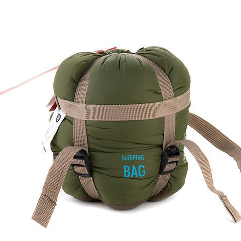 Naturehike Ultralight Envelope Sleeping Bag - Army Green - Camotrek