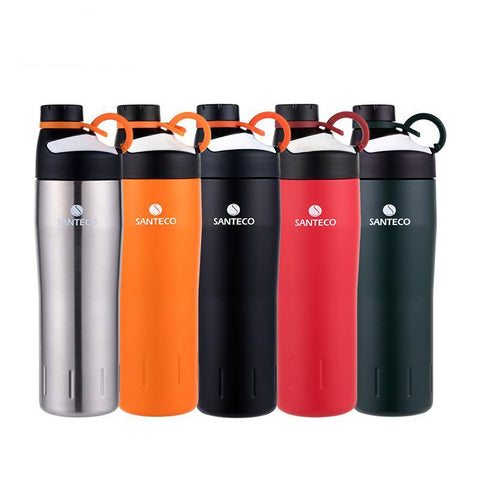 Santeco Oural Sports Bottle 590ml Stainless - Camotrek