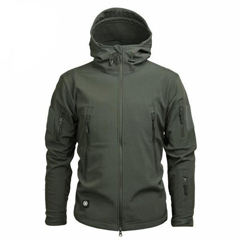 Shark Skin Softshell Jacket II Gray - Men's - Camotrek