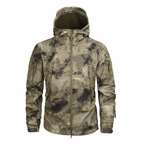 Shark Skin Softshell Jacket II Camo AT - Men's - Camotrek