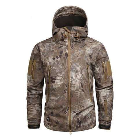 Shark Skin Softshell Jacket II Camo Nomad - Men's - Camotrek