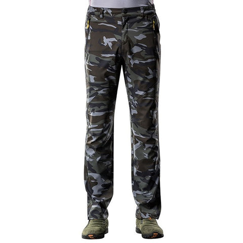 Softshell Pants Camo - Men's