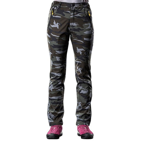 Softshell Pants Camo - Women's - Camotrek