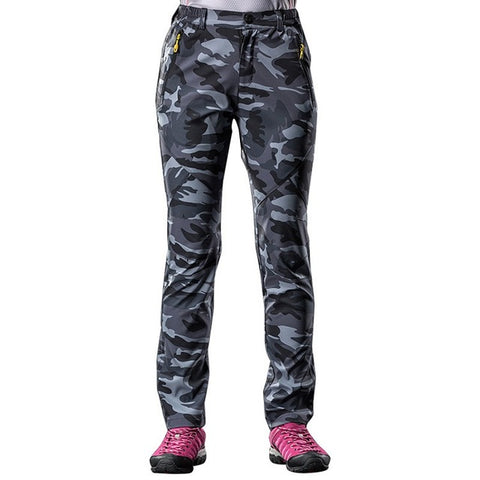 Softshell pants Camo - Women's