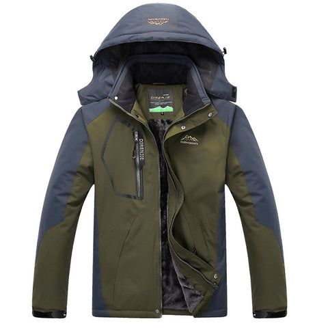 Mountainskin Winter Insulated Jacket - Men's - Camotrek