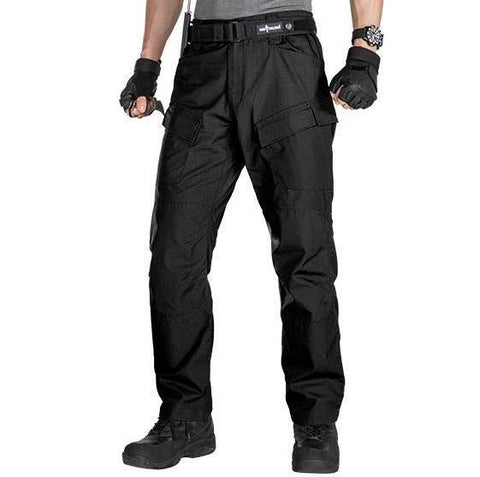 FREE SOLDIER Pro Tactical Pants Black - Camotrek