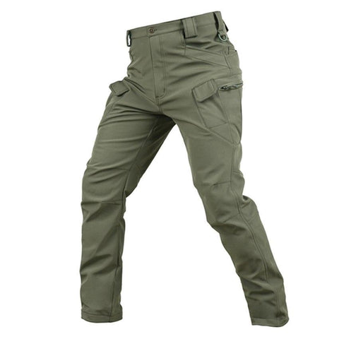 Mountainskin Softshell Tactical Pants Army Green - Camotrek