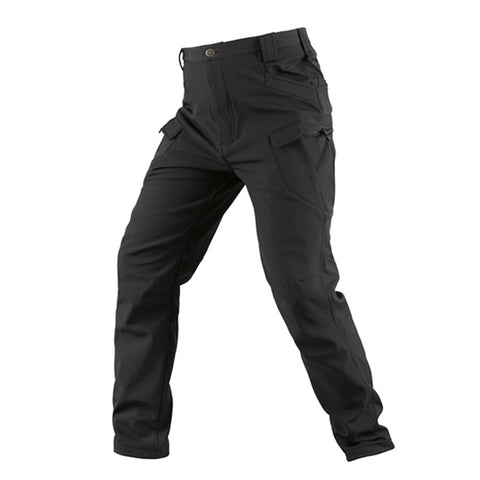 Softshell Tactical Pants Black - Men's - Camotrek