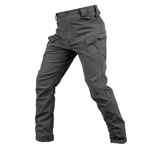 Softshell Tactical Pants Grey - Men's - Camotrek