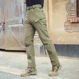 Softshell Tactical Pants OD - Men's - Camotrek