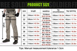 FREE SOLDIER Roll-Up Tactical Pants Grey - Camotrek