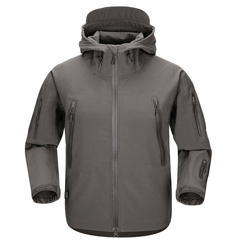 Shark Skin NG Softshell Jacket Grey - Men's - Camotrek